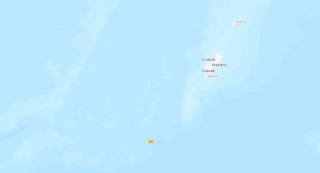 A 4.6 magnitude earthquake struck Guam on Oct. 30.