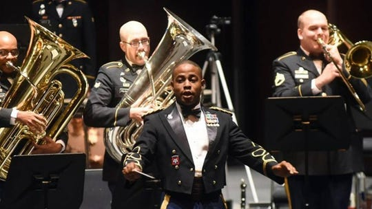 The 101st Screaming Eagles Military Band will be featured in a free concert Saturday evening.