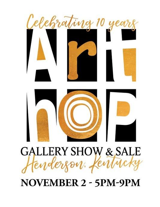 Art Hop Poster