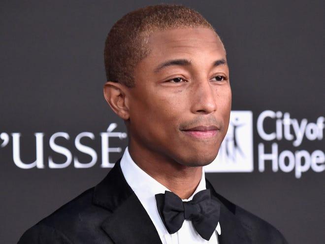 Pharrell Williams attends the City of Hope Spirit of Life Gala Oct. 11 in Santa Monica, California.