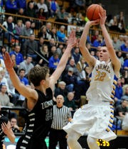Carmel's Zach McRoberts earned Indiana All-Star honors his senior season.