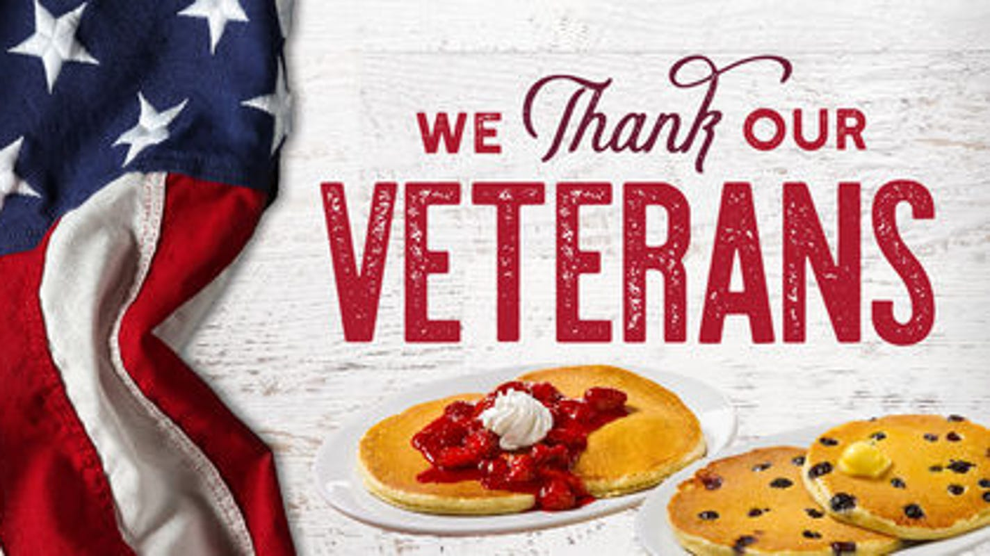 Veterans Day free meals 2018: Freebies, deals and discounts