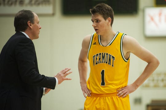 Zach McRoberts played one season at Vermont before transferring to IU to be closer to home.