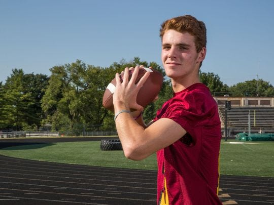 Mac Ayres of Scecina is the City Offensive Player of the Year