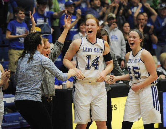 Lilly Hatton (14) has helped North Harrison to plenty of tournament success.