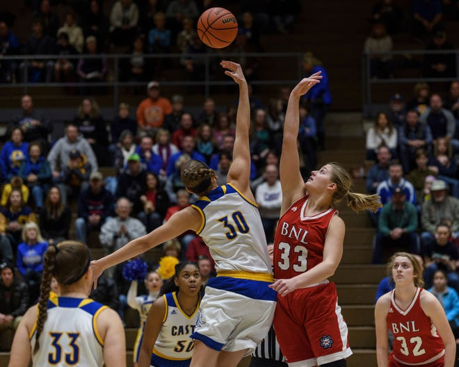 Bedford North Lawrence's Jorie Allen (33) has been a consistent force for the Stars.