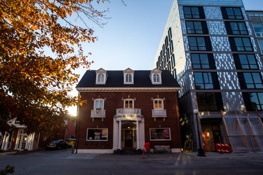 The Yacht Club is seen on Monday, Oct. 15, 2018, at 13 S. Linn St. in downtown Iowa City.