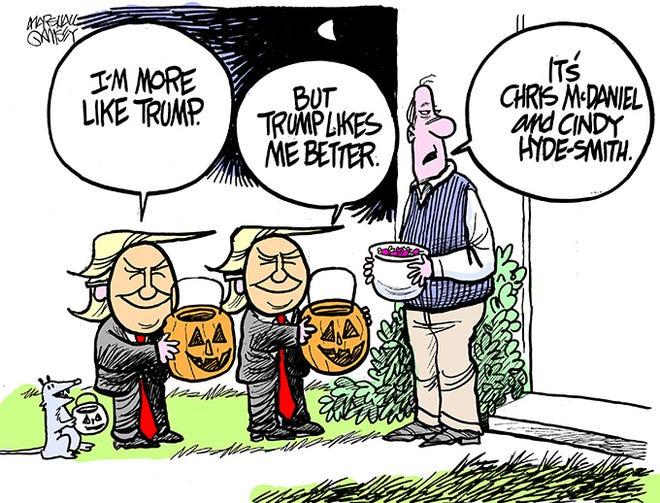 trick or trump.