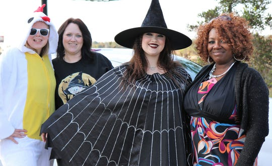The City of Jackson and Madison County held the 11th annual Trunk or Treat at the Ballpark at Jackson on Saturday, October 27, 2018. The event featured a partnership between the city, county and privately owned businesses that offered candy — about a million pieces —in a safe environment for the children. The event was free for the public.