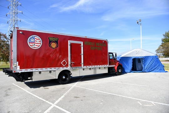 The Madison County Fire Department and Jackson-Madison County Regional Health Department will work together to set up a Field Mobile Hospital which allows first responders to treat patients faster.