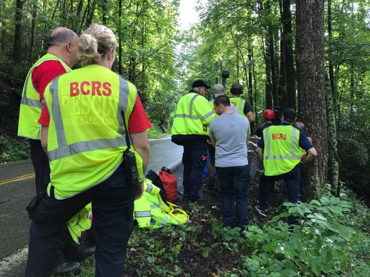 """The History Channel filmed the Blount County Rescue Squad for its upcoming TV event, """"Rescue Trucks."""""""