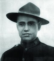 Calvin John Ward, World War I Medal of Honor recipient from East Tennessee