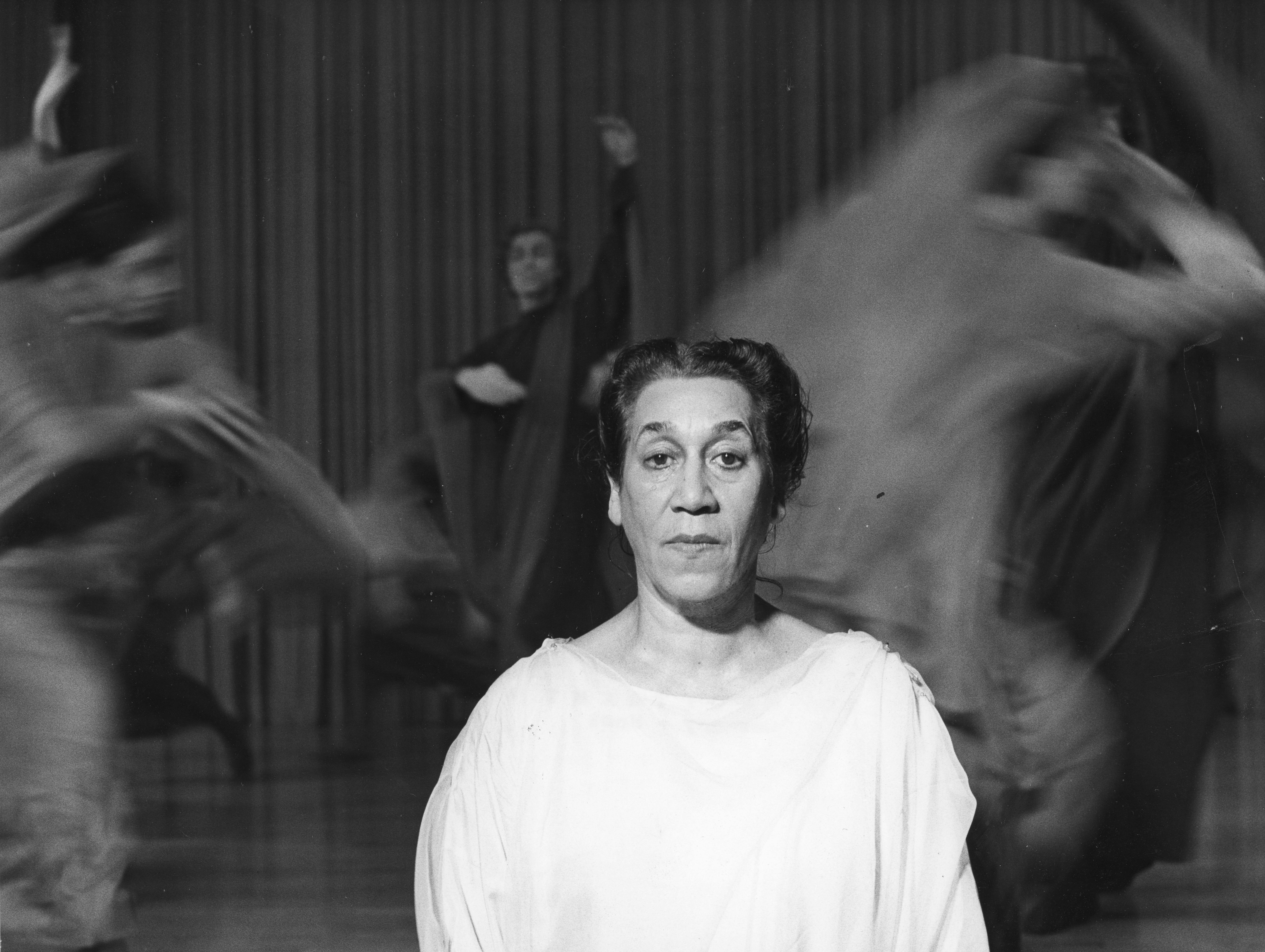 Else Klinka, choreographer, producer artistic director visits the Bijou Theatre.