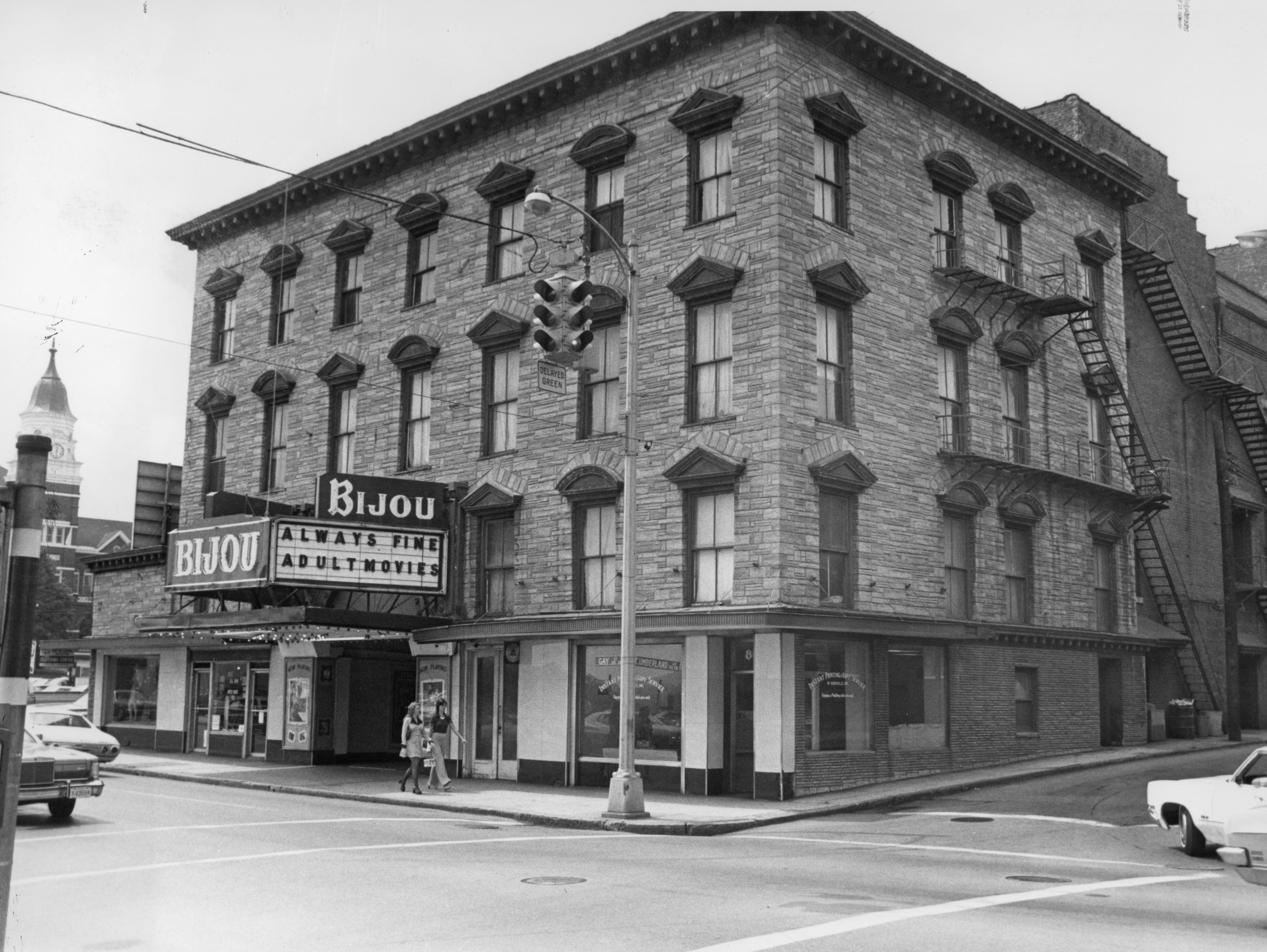The Bijou Theatre as seen on September 22, 1974.