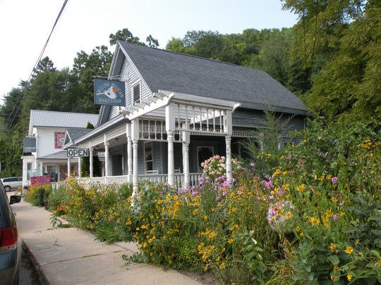 Maiden Rock, Wisconsin, a historic logging town on the Great River Road, has a charming business district that includes the Smiling Pelican Bakeshop and Cultural Cloth, a haven for handmade textiles.