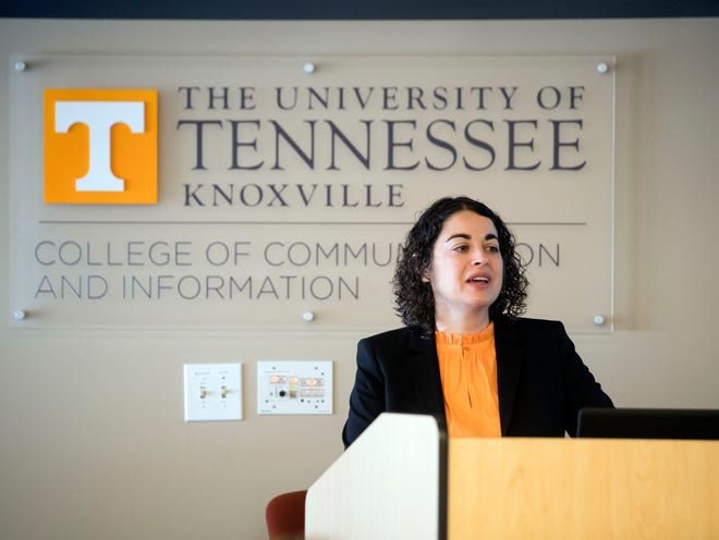 Tisha Benton has been named UT's new vice chancellor for communications.