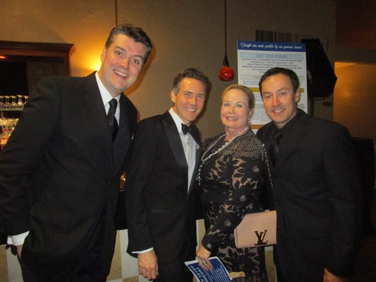 Adam McDonald, Tommy Wazzelle, Ginger Roy amd Jason Whitfield