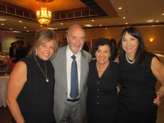 Cece Stuller, Bo and Jerry Ramsay and Claudia Campbell