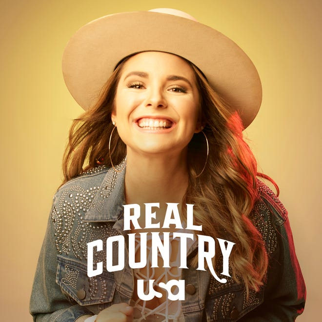 """Singer-songwriter Kylie Frey of Opelousas is a contestant on """"Real Country"""" on USA Network."""