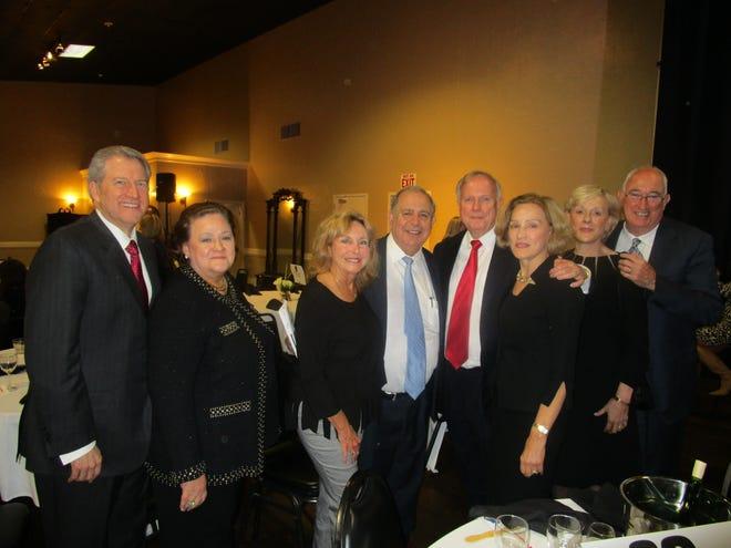 David and Paula Blanchet, Barbara and Buddy Azar, John and Cheryl Hendry and Linda and Mike Doherty