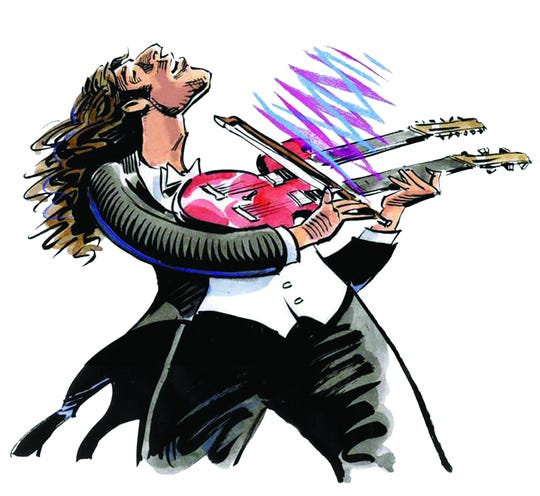 The Acadiana Symphony Orchestra and the rock band Zebra perform Led Zeppelin classics Nov. 9 at the Heymann Performing Arts Center.