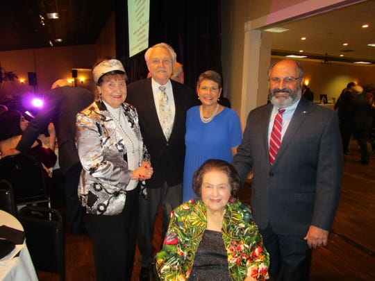 Sue and Marvin Munchrath, Mary Margaret and Doug Saloom and Yvonne Saloom.