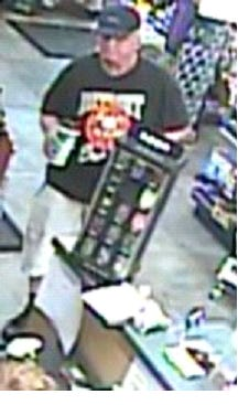 Police are asking for the public's help in identifying a man in connection with a robbery in Howell.