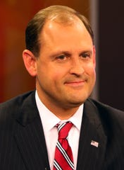 Sixth Congressional district Republican candidate Andy Barr before a debate at KET in Lexington, Oct. 29, 2018.