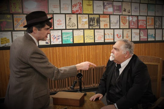 """A scene from The Masquers' production of """"It's a Wonderful Life."""""""