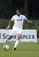 Dan Metzger signed with Memphis 901 FC on Oct. 30, 2018.