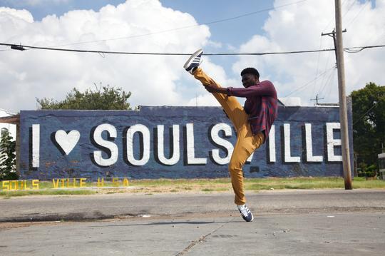 "Lil Black gets buck in the ""jookin'"" documentary ""Memphis Majic."""