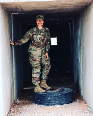 2016 Pewaukee alumna Tiffany Torres is stationed overseas and made a request via a Pewaukee community Facebook page for reminders of home. The community has gladly answered.