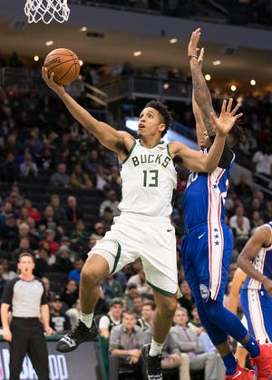 "During November, Bucks guard Malcolm Brogdon and the other players in the ""Ballin' for Buckets"" campaign will ask fans to make a monetary pledge that correlates to a statistical category."