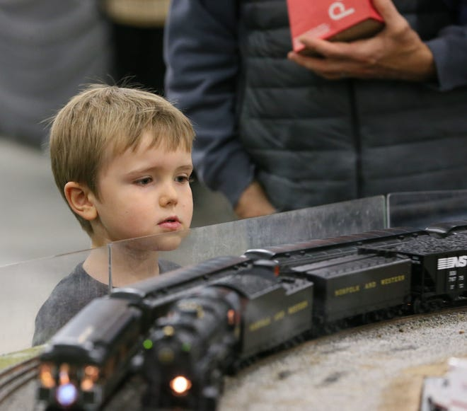 Trainfest runs from 9 a.m. to 5 p.m. Nov. 10-11 in the Wisconsin Expo Center at State Fair Park in West Allis.