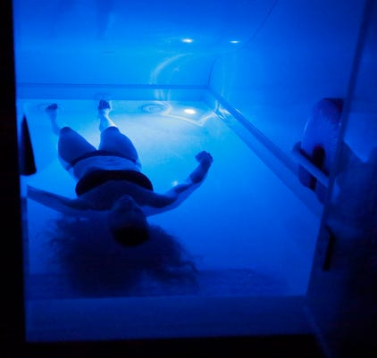 Floatation Therapy At A Better Me Spa