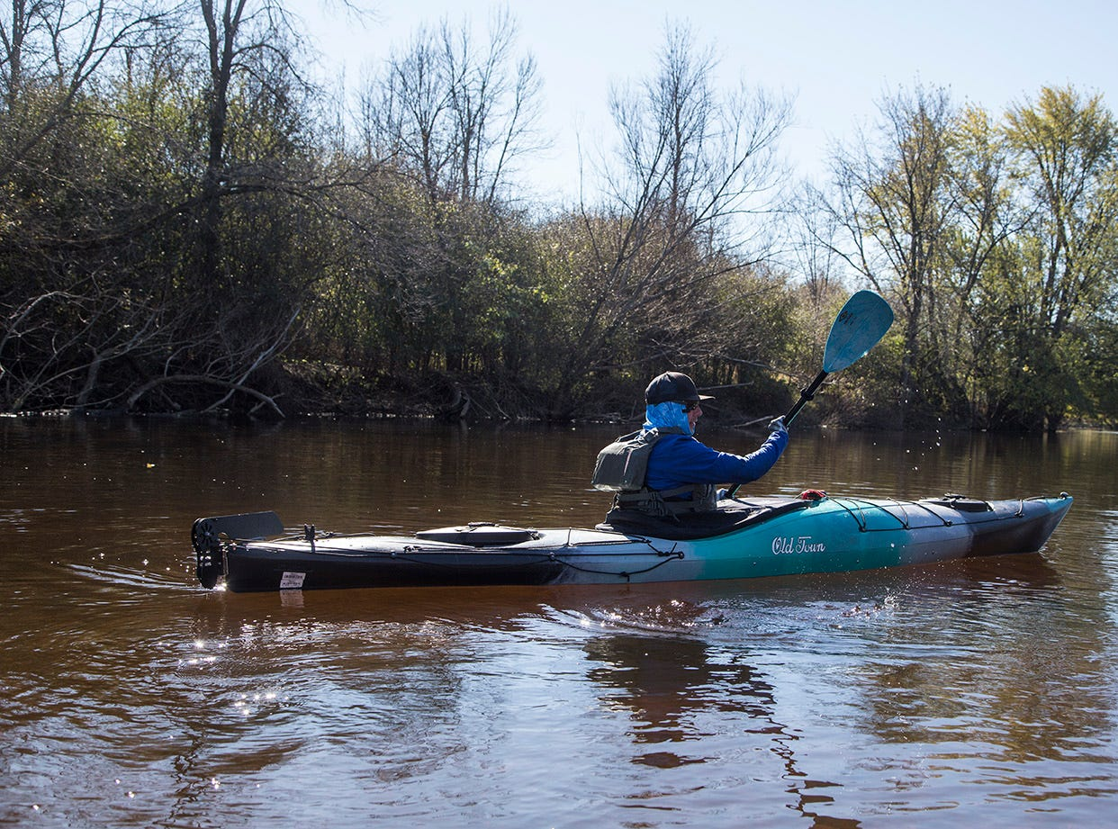 Cedarburg native Eric Larsen hiked, biked and kayaked 500 miles across Wisconsin to raise money for Riveredge Nature Center.