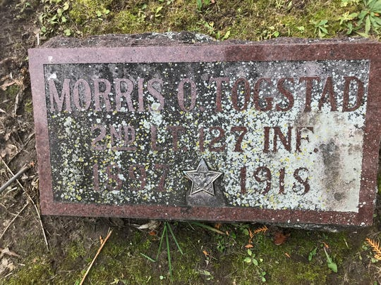 Morris Togstad was a second lieutenant in Headquarters Company of the Wisconsin National Guard's 127th Infantry and was one of the last soldiers from Madison killed in World War I.