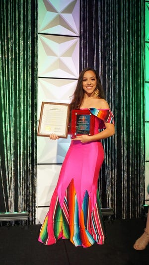 Valentina Loeder, teenager of the year for United Migrant Opportunity Services (UMOS)
