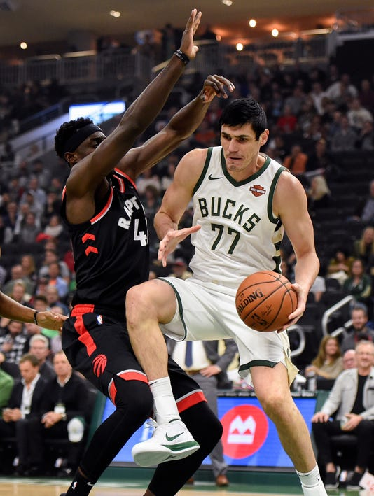 Nba Toronto Raptors At Milwaukee Bucks