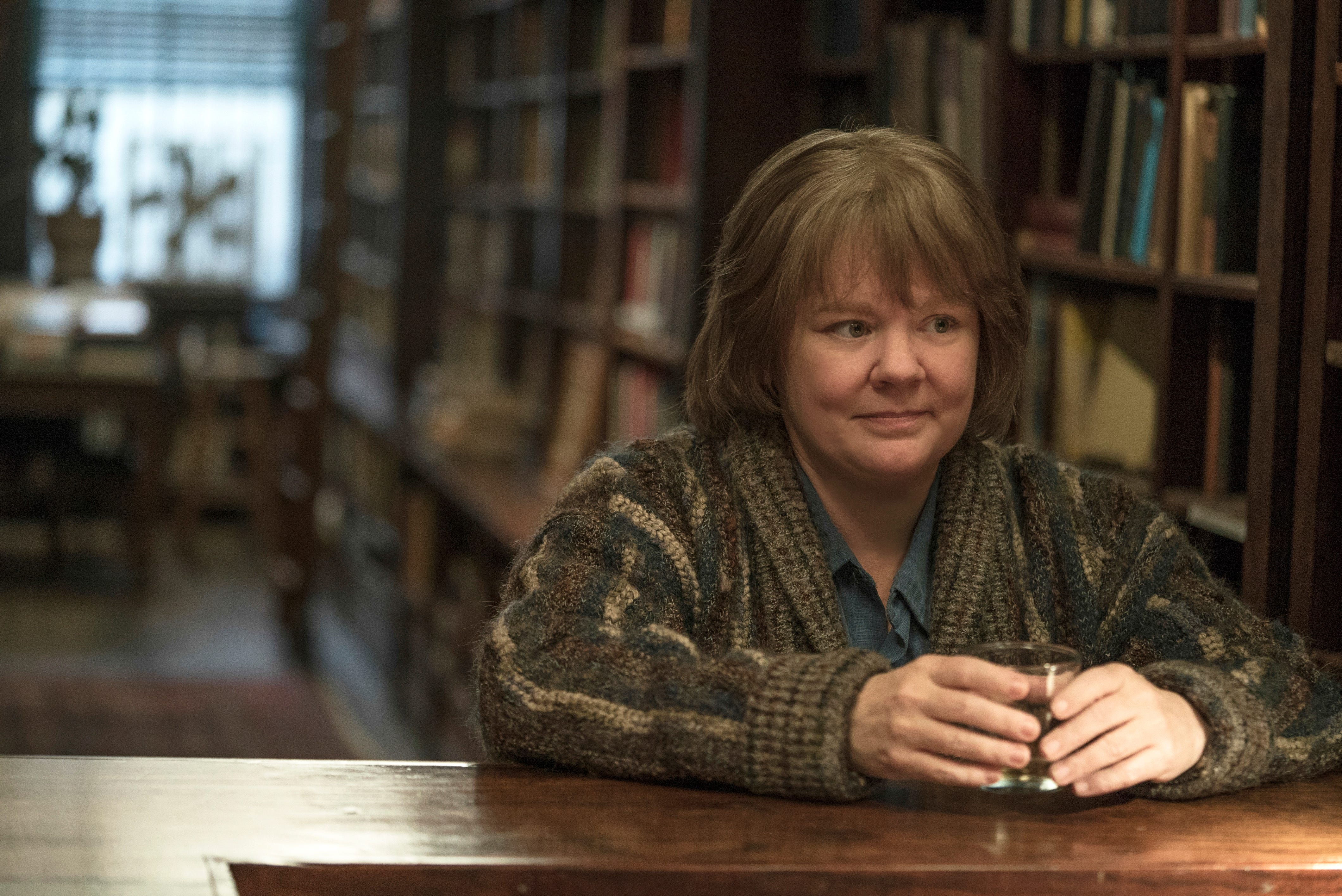 "Melissa McCarthy plays an author who finds a new sideline, forgery, in ""Can You Ever Forgive Me?"""