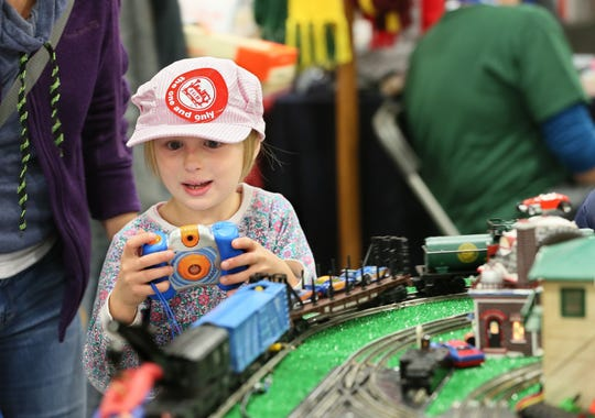 Trainfest will have over 70 model railroads, some of which attendees can run.