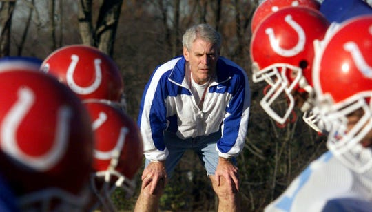 The new football stadium at Glencliff will be named in honor of former Colts coach Jim Wilson.