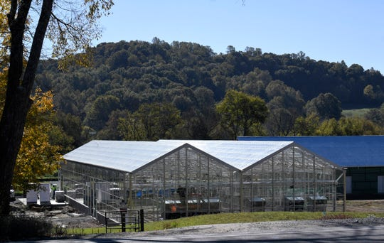 Large greenhouses are being constructed at Southall Farm Village and Inn for its farm-to-table operation off Carters Creek Pike in Franklin.
