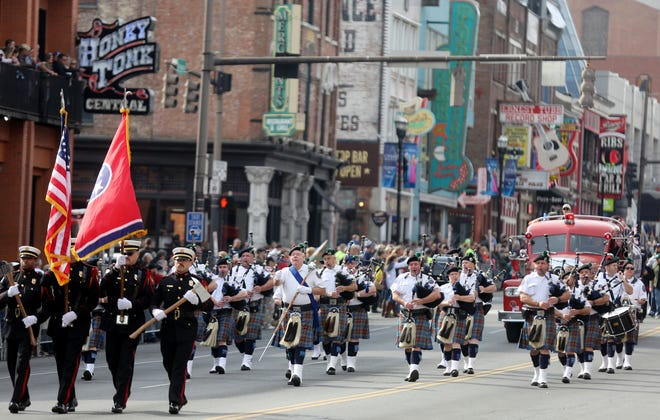 NOV. 12VETERANS DAY PARADE: 11 a.m. Broadway in downtown Nashville