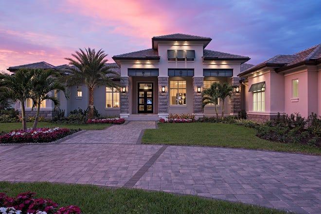 McGarvey Custom Homes' Beechwood model had an asking price of $3.25 million.
