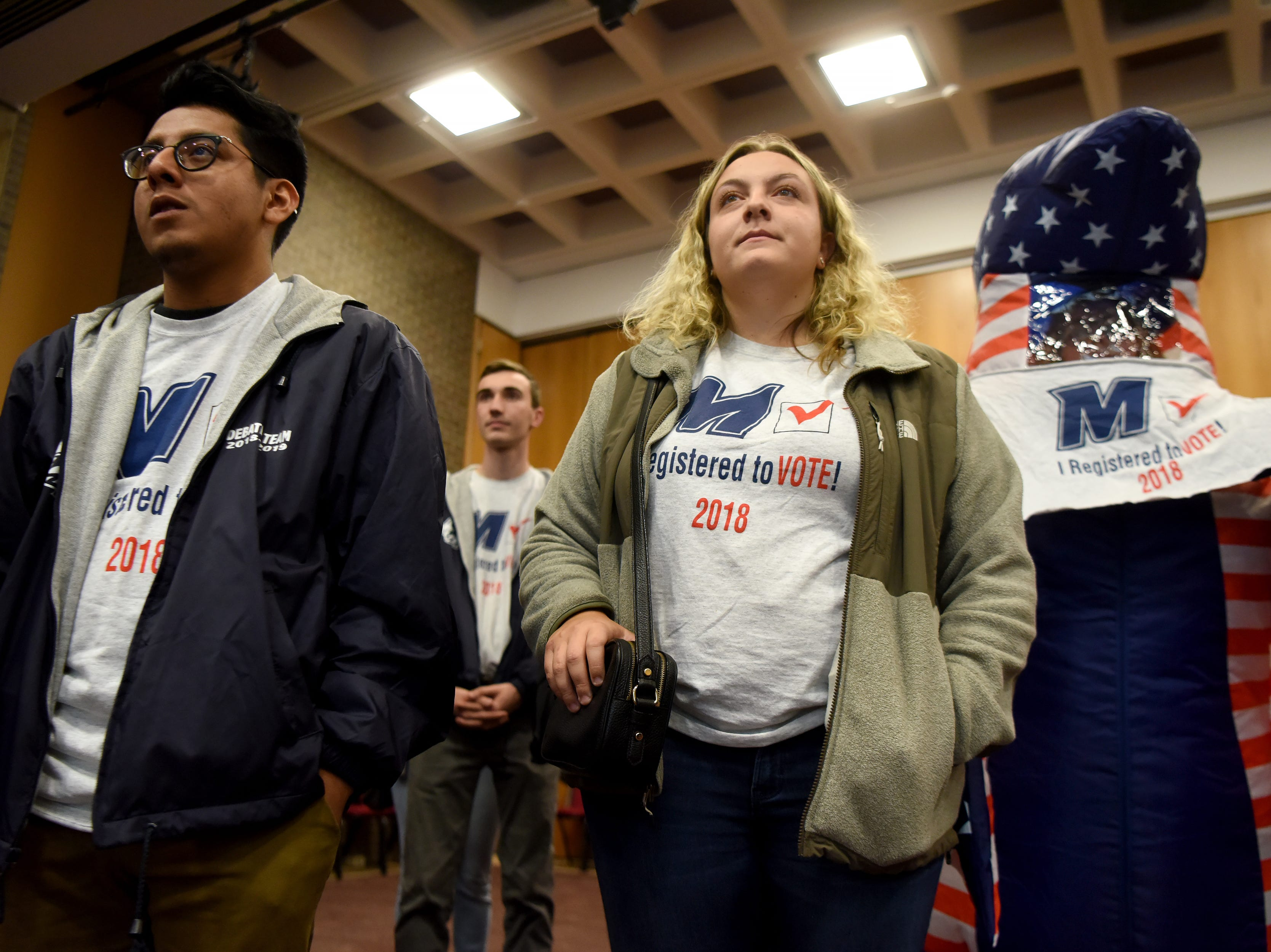 NJ colleges compete to register voters, students push for more engagement among peers