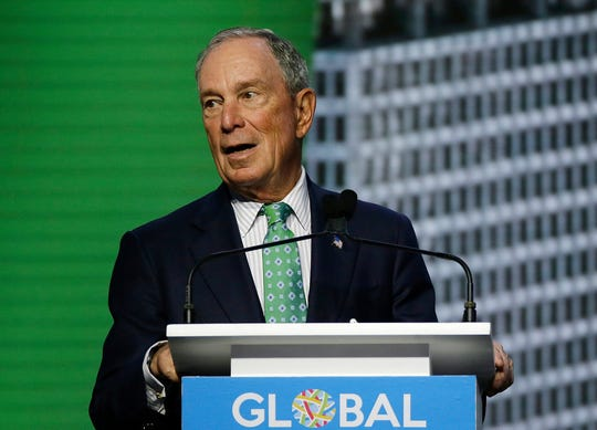Former New York City Mayor Michael Bloomberg has donated $1.87 million to help Mikie Sherrill in the 11th Congressional District.