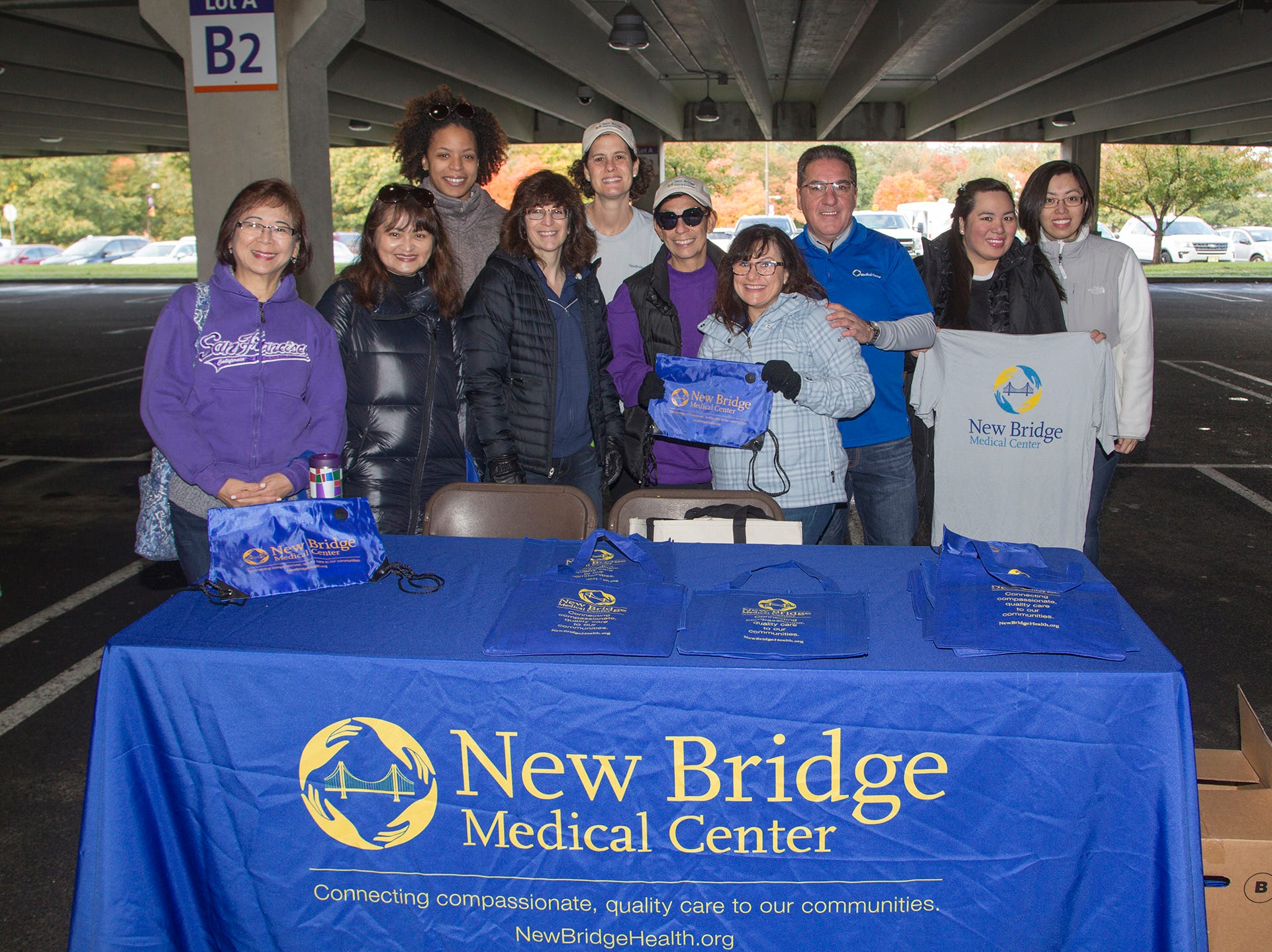 "New Bridge Medical Center. Alzheimer's New Jersey hosts annual ""Walk to Fight Alzheimer's"" at Bergen Community College in Paramus. 10/28/2018"