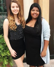 Taylor Morales and Macey Wonacott, former students of Marjory Stoneman Douglas High School in Parkland, Florida, the site of deadly shooting on Valentine's Day, will participate in a forum on gun safety at William Paterson University in Wayne on Nov. 1.