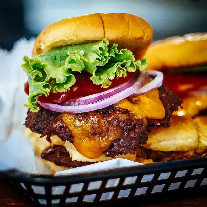 The specialty at BurgerHaus is, of course, the mighty burger.